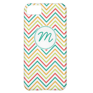 Bright Colored Chevron Pattern iPhone 5C Case