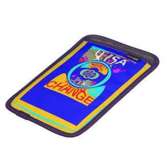 Bright colorful change Bright Hope Electronics art iPad Mini Sleeves