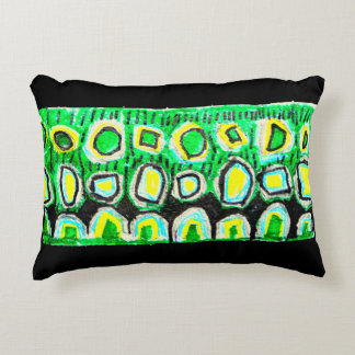 Bright, colorful  child designed pillow, 2 sided decorative cushion