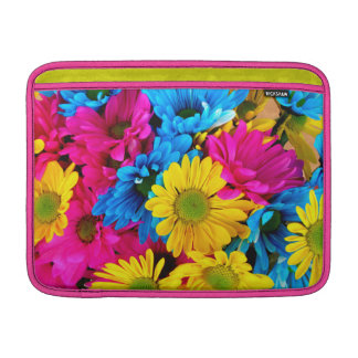 Bright Colorful Daisies Sleeve For MacBook Air