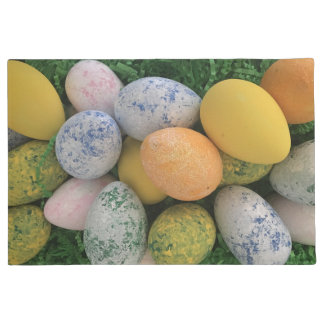 Bright Colorful Easter Eggs Doormat