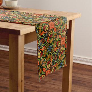 Bright Colorful Ladybug Pattern Medium Table Runner