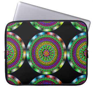 Bright & Colorful Mystical Mandala Laptop Sleeve