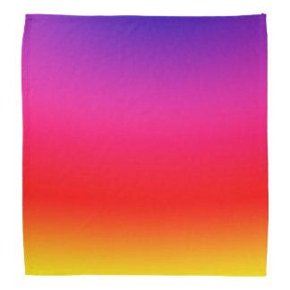 Bright Colorful Neon Gradient Bandana