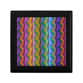 Bright Colorful Psychedelic Pattern Gift Box