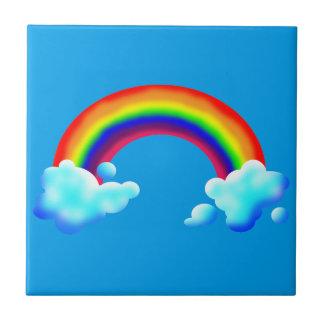 Bright & Colorful Rainbow Ceramic Tile