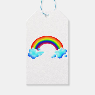 Bright & Colorful Rainbow Gift Tags