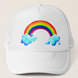 Bright & Colorful Rainbow Trucker Hat