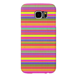 Bright Colorful Stripes Samsung Galaxy S6 Cases