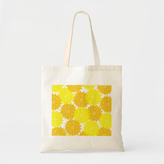 Bright Colorful Yellow Flower Blossoms Floral Bags