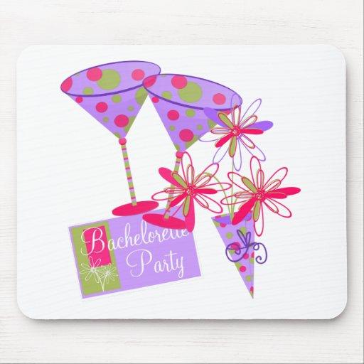 Bright Colors Bachelorette Party Mouse Mat