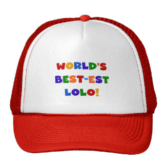 Bright Colors Best-est Lolo T-shirts and Gifts Cap