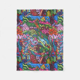 Bright Colors, Bold Design Blanket