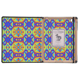 Bright Colors Fun Pattern Cases For iPad