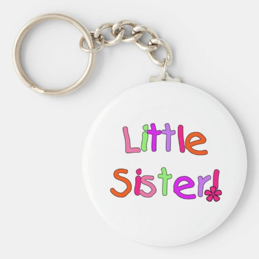 Bright Colors Little Sister Key Chain