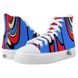 Bright  Colors Printed Shoes