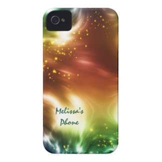 Bright Colors Space Stars Blackberry Phone Case iPhone 4 Cases