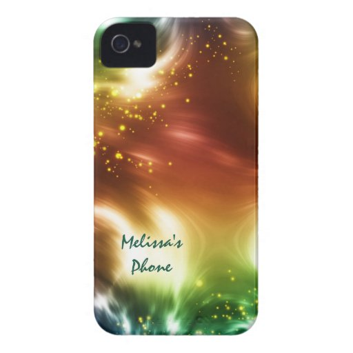 Bright Colors Space Stars Blackberry Phone Case Blackberry Case