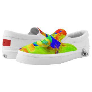 Bright Colors Tomato Slip On Sneaker