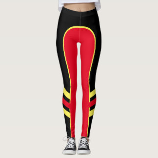 Bright Colour Side Band Leggings 1
