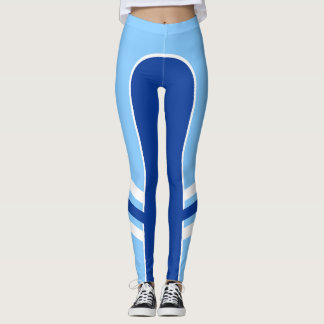 Bright Colour Side Band Leggings 2