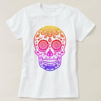 Bright Colourful Candy Sugar Skull Shirt