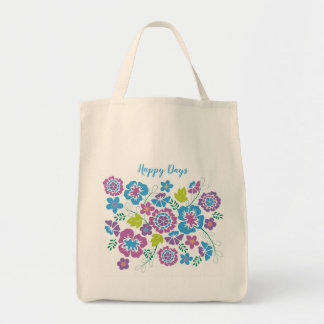 Bright, Colourful Grocery or Everyday Tote