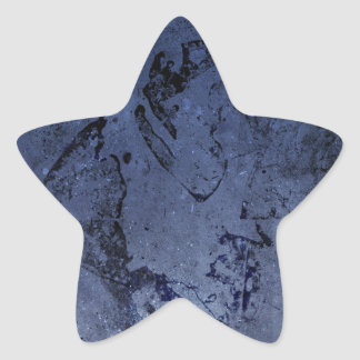 Bright colourful purple blue abstract grunge nice star stickers