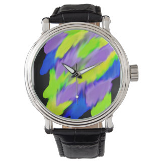 Bright Colourful Wristwatches