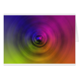Bright colours of spiral blur as an abstract greeting cards