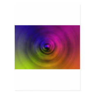 Bright colours of spiral blur as an abstract postcard
