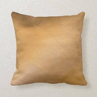 Bright Copper Faux Finish Pillows