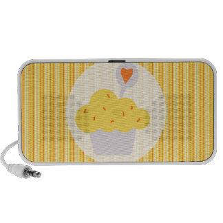 Bright Cupcake Travelling Speakers