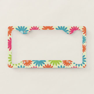 Bright Daisies License Plate Cover