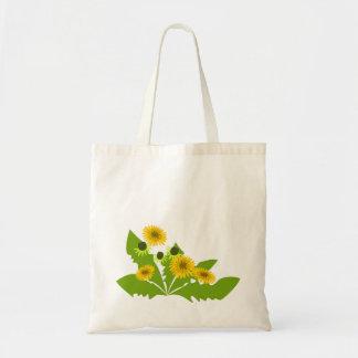 Bright Dandelions Tote Bag