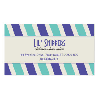 Bright Diagonals Appointment Pack Of Standard Business Cards