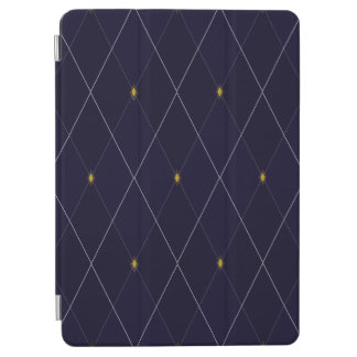 Bright Diamond Navy Argyle 9.7""