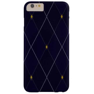 Bright Diamond Navy Argyle Barely There iPhone 6 Plus Case