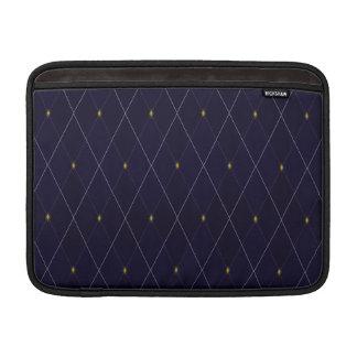Bright Diamond Navy Argyle MacBook Air Sleeves