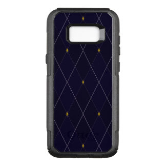 Bright Diamond Navy Argyle OtterBox Commuter Samsung Galaxy S8+ Case