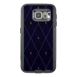 Bright Diamond Navy Argyle OtterBox Samsung Galaxy S6 Case