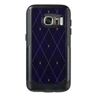Bright Diamond Navy Argyle OtterBox Samsung Galaxy S7 Case