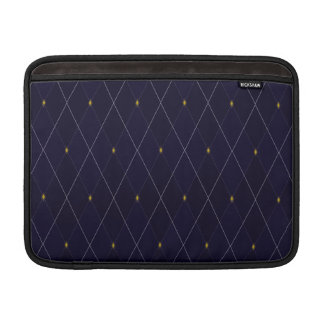 Bright Diamond Navy Argyle Sleeve For MacBook Air