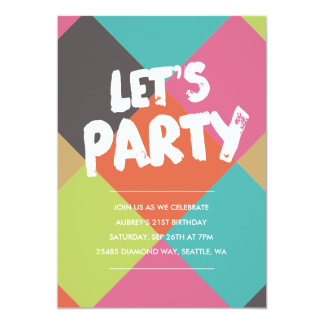 Cool Birthday Invitations Announcements Zazzlecomau