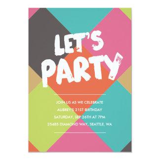 cool birthday invitations & announcements | zazzle.au, Birthday invitations