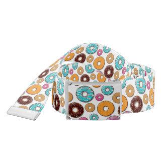 Bright Donut Whimsical Pattern Belt