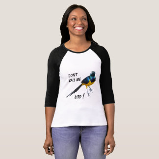 Bright, eye catching slogan Tee shirt - bird print