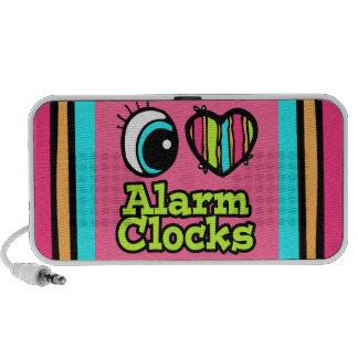 Bright Eye Heart I Love Alarm Clocks Speaker System