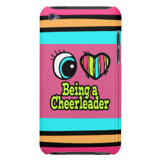 Bright Eye Heart I Love Being a Cheerleader iPod Case-Mate Case