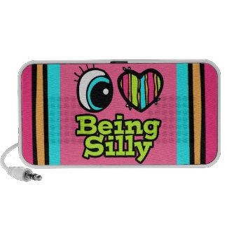 Bright Eye Heart I Love Being Silly iPod Speaker